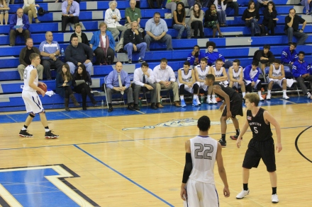 Hamilton defeated Dobson 69-68 on the Mustangs home court on Tuesday, December 3rd.